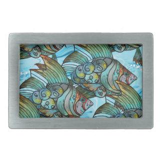 Fishy Fishy Belt Buckles