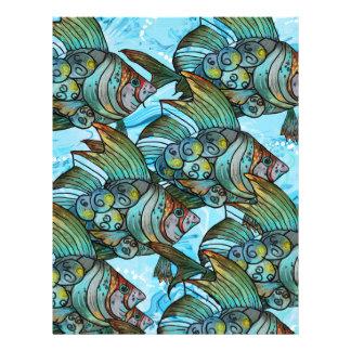 Fishy Fishy Letterhead