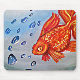 Fishy Fishy Mousepad Art By Meaghen King