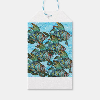 Fishy Fishy Pack Of Gift Tags