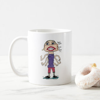 Fishy Fishy TV Wishy Coffee Mug