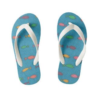 Fishy Flip Flops