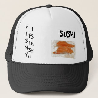 FISHY SUSHI TRUCKER HAT