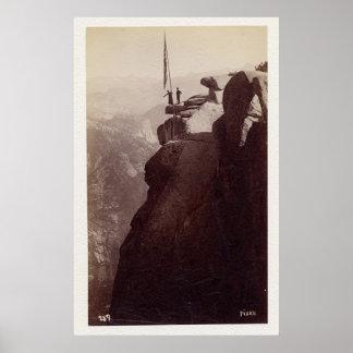 Fiske Glacier Pt. Yosemite 1870 Poster