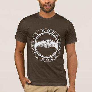 Fist-Bump: Hot Rockin Front - Br|Sr Brother Back T-Shirt