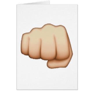 Fist - Emoji Card