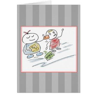 Fist Full of Joy Greeting Card