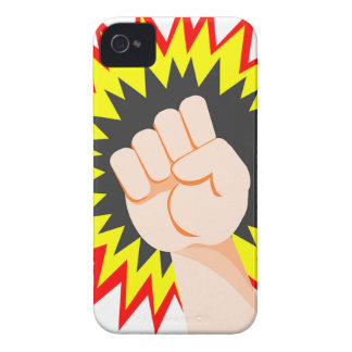 Fist Hand Strength Arm Power Energy Punch iPhone 4 Case