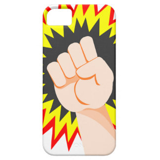 Fist Hand Strength Arm Power Energy Punch iPhone 5 Cover