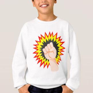Fist Hand Strength Arm Power Energy Punch Sweatshirt