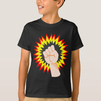 Fist Hand Strength Arm Power Energy Punch T-Shirt