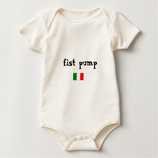 Fist Pump Baby Bodysuit