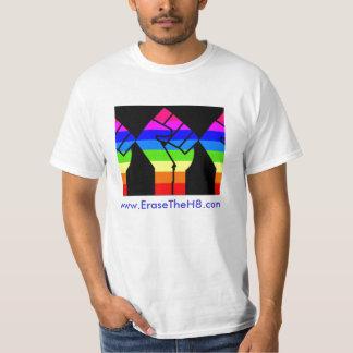 fist, www.EraseTheH8.com T-Shirt