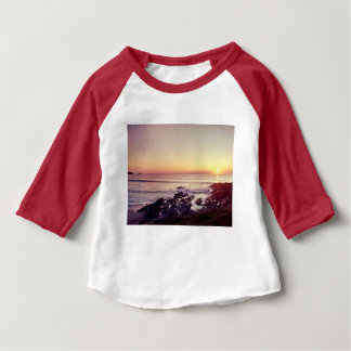 Fistral Beach Sunset Baby T-Shirt