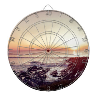Fistral Beach Sunset Dartboard