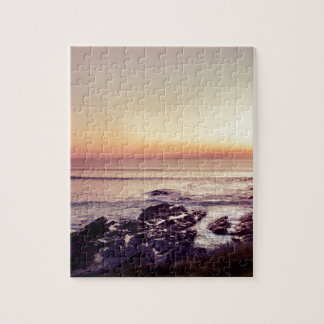 Fistral Beach Sunset Jigsaw Puzzle