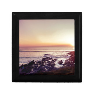 Fistral Beach Sunset Keepsake Box