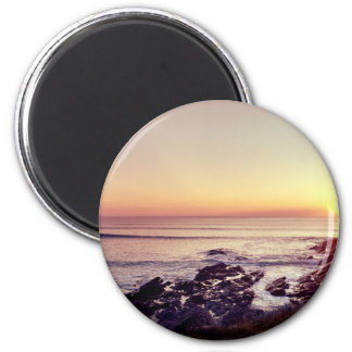 Fistral Beach Sunset Magnet