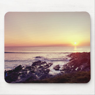 Fistral Beach Sunset Mouse Pad