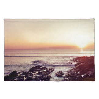 Fistral Beach Sunset Placemat