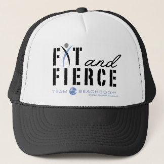 Fit and Fierce Trucker Hat