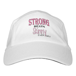Fit Body STRONG BEATS Skinny everyday Typography Hat