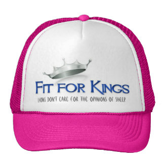 Fit For kings Hat Pink