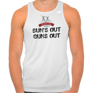 "Fit For Life ""Sun's Out Guns Out"" Tank Top"