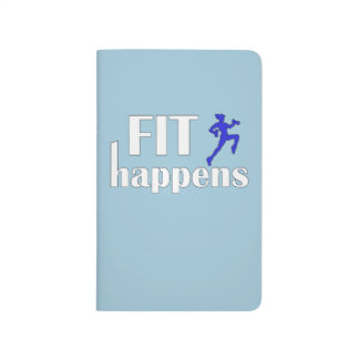 Fit Happens Workout Motivation Journal