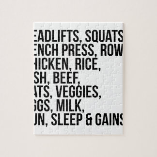 Fit Life Jigsaw Puzzle