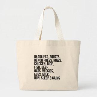 Fit Life Large Tote Bag