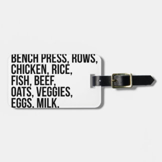 Fit Life Luggage Tag
