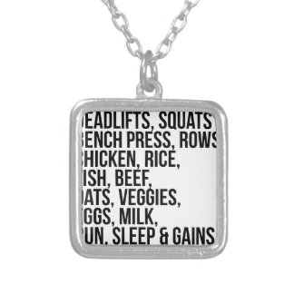 Fit Life Silver Plated Necklace
