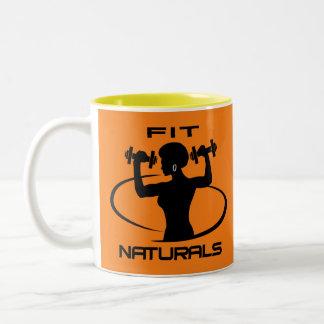 Fit Naturals 2 tone Mug