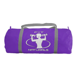 Fit Naturals (w) Gym Duffle Bag