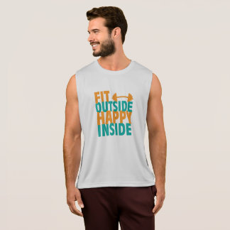 Fit Outside Happy Inside Tank Top