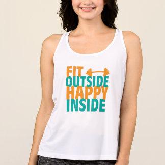 Fit Outside Happy Inside Tank Top
