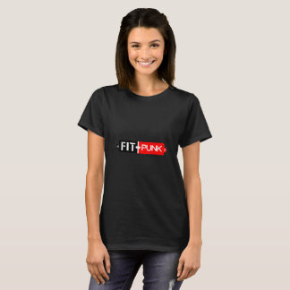 Fit Punk womens black t-shirt