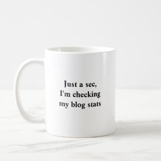 Fitblogger Blog Stats Mug