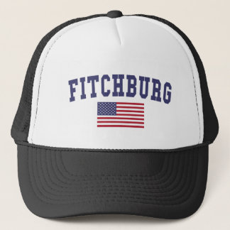 Fitchburg US Flag Trucker Hat
