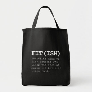 Fitish Also Like Food Tote Bag
