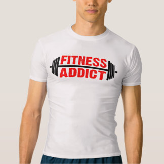 Fitness Addict (L) T-shirt
