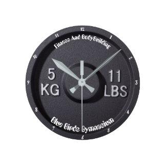 Fitness And Bodybuilding Gymnasium Clock
