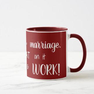 Fitness and Marriage Inspirational Mug