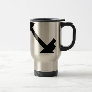 Fitness Center Dumbbell Travel Mug