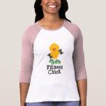 Fitness Chick Raglan Shirt