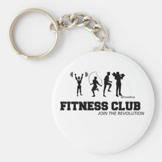 FITNESS CLUB KEYCHAIN