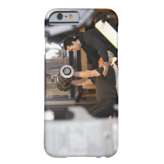 fitness coach works with 'senior' in gym barely there iPhone 6 case