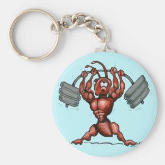 Fitness Dude Keychain