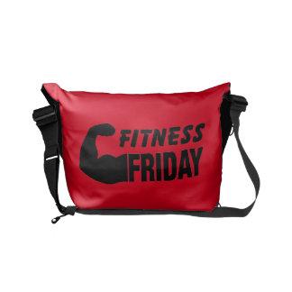 Fitness Friday - Motivational Gym Messenger Bag